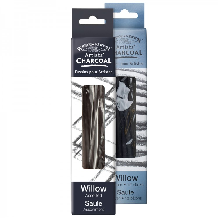 Winsor & Newton : Willow Charcoal Packs