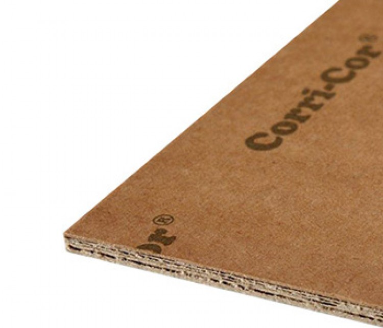 Corri Cor Mark 3 : A1 Double Corrugated 2.8mm Backing Board - water-resistant