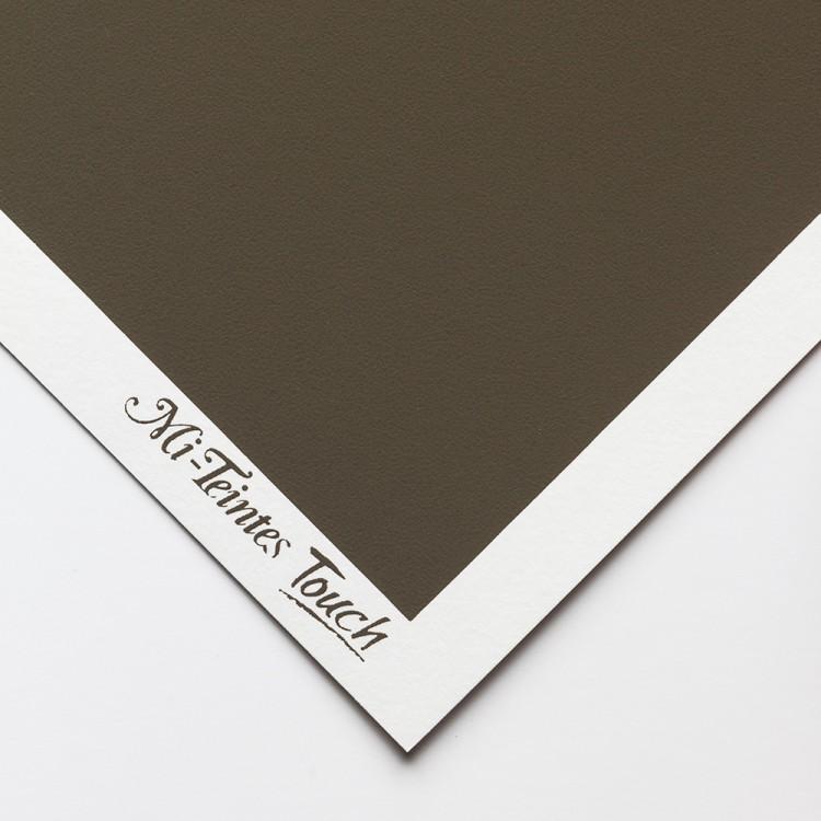 Canson : Mi-Teintes Touch : Pastel Paper : 350gsm : 50x65cm : 345 : Dark Grey