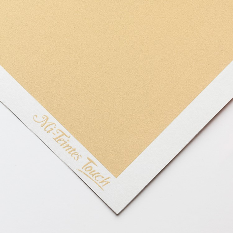 Canson : Mi-Teintes : Touch Pastel : Paper : 335gsm : 50x65cm : 407 : Cream