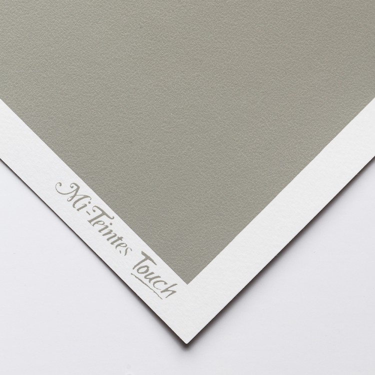Canson : Mi-Teintes : Touch Pastel : Paper : 335gsm : 50x65cm : 431 : Steel Grey