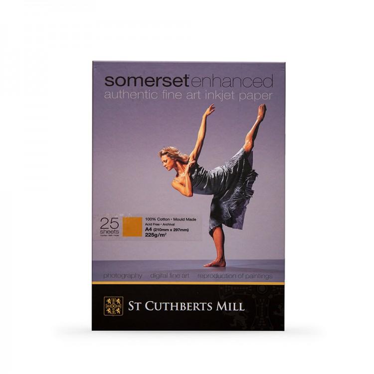 Somerset : Enhanced Digital Paper : A4 : Box of 25 : Velvet