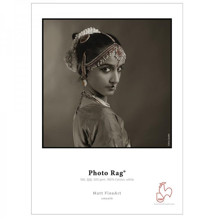 Hahnemuhle : Photo Rag : Digital Inkjet Paper : 308gsm : 25 Sheets : A4