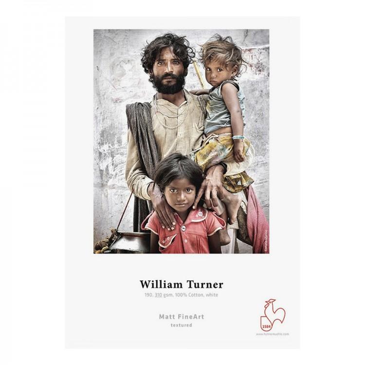 Hahnemuhle : William Turner : Digital Inkjet Paper : 310gsm : 25 Sheets : A4