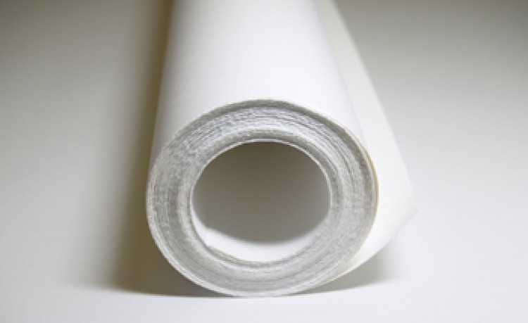 Fabriano : 4 : Roll of Paper : 220gsm : 100lb : Bright White Liscio