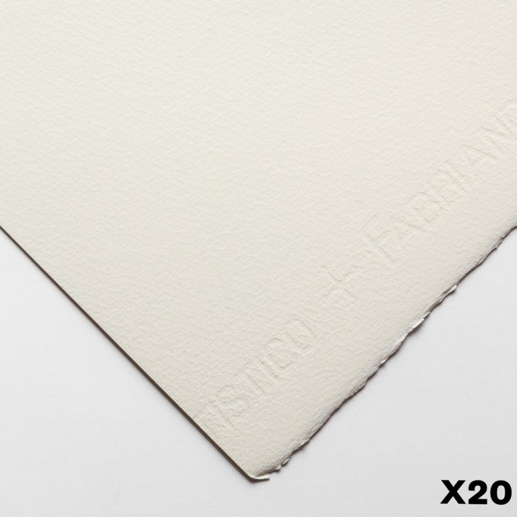 Fabriano : Artistico : 300gsm : 22x30in : 20 Sheets : Traditional : Not