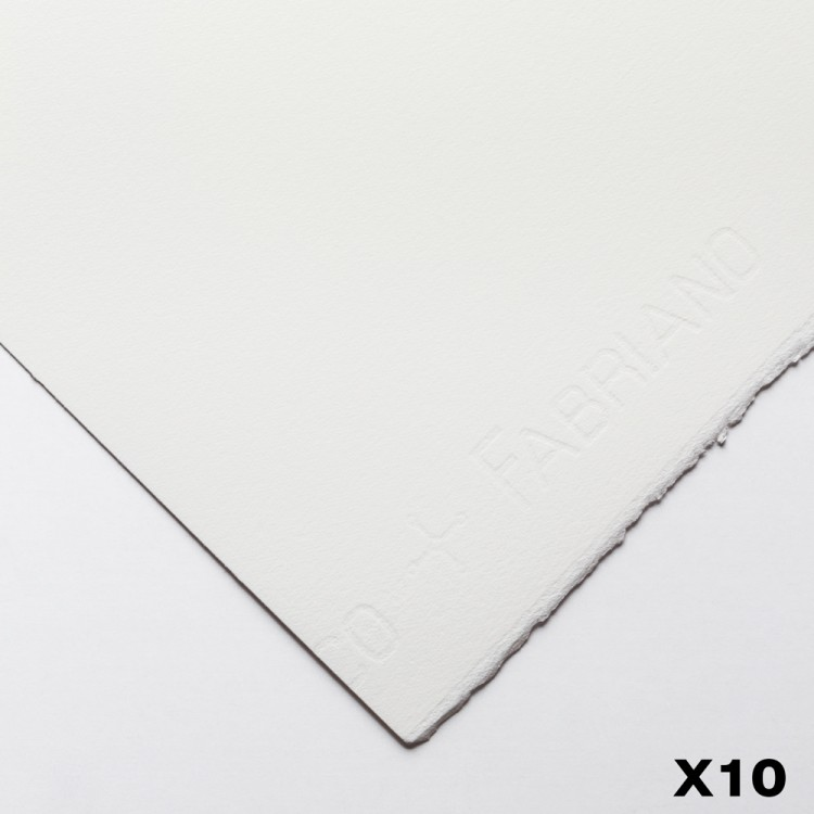 Fabriano : Artistico : 300gsm : 22x30in : 10 Sheets : Extra White : HP