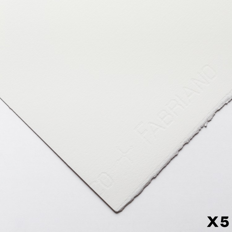 Fabriano : Artistico : 300gsm : 22x30in : 5 Sheets : Extra White : HP