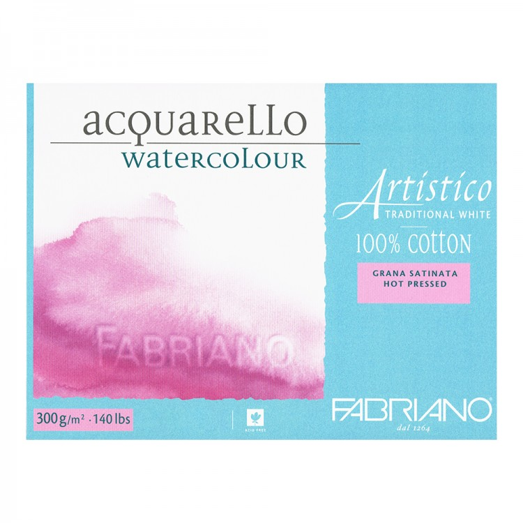 Fabriano : Artistico : Block : 14x20in : 15 Sheets : Traditional : HP