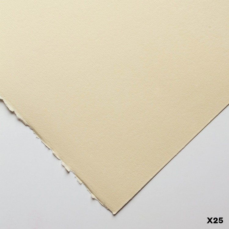 Fabriano : Rosaspina : Printmaking Paper : 70x50cm : 285gsm : Ivory : Pack of 25