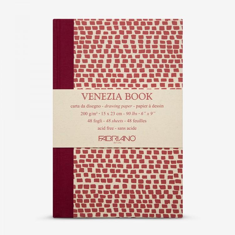 Fabriano : Venezia Book : 15x23cm : 6x9in : 200gsm : Academia Cartridge