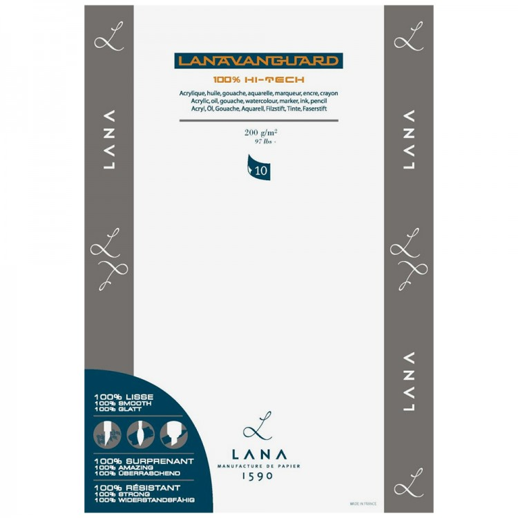 Lana : Vanguard Polypropylene Paper : Pack : 5 Sheet : 70x50cm