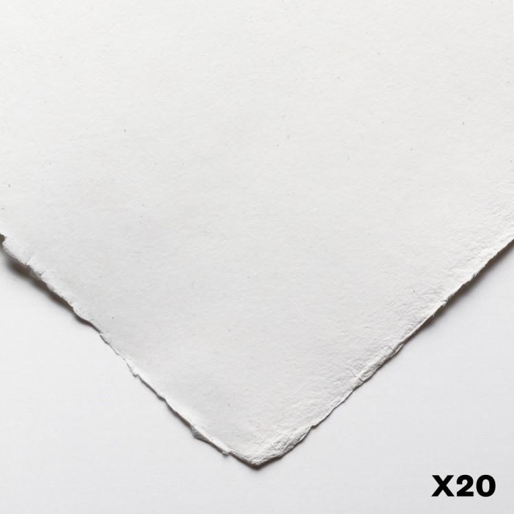 Jackson's : Eco Paper : Smooth / Medium : 140lb : 11x15in : 20 Quarter Sheets
