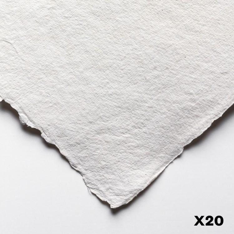 Jackson's : Eco Paper : Extra Rough : 200lb : 11x15in : 20 Quarter Sheets