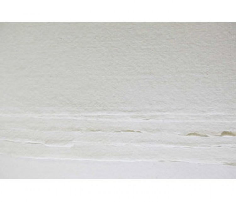 Khadi Handmade White Rag Paper 210gsm : Rough : 56x76cm