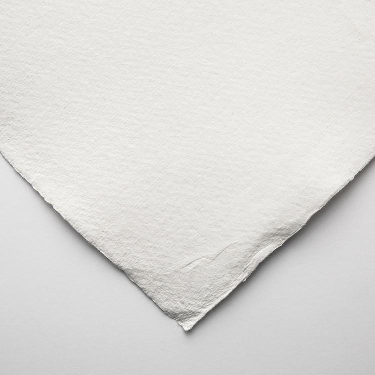 Khadi Handmade White Rag Paper 210gsm : Smooth : 56x76cm : 10 Sheets