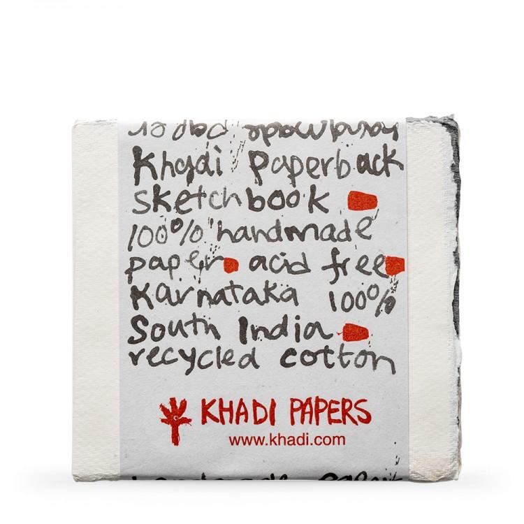 Khadi Handmade Watercolour Paper Pad 150gsm : Rough : 15 Sheets : 15x15cm