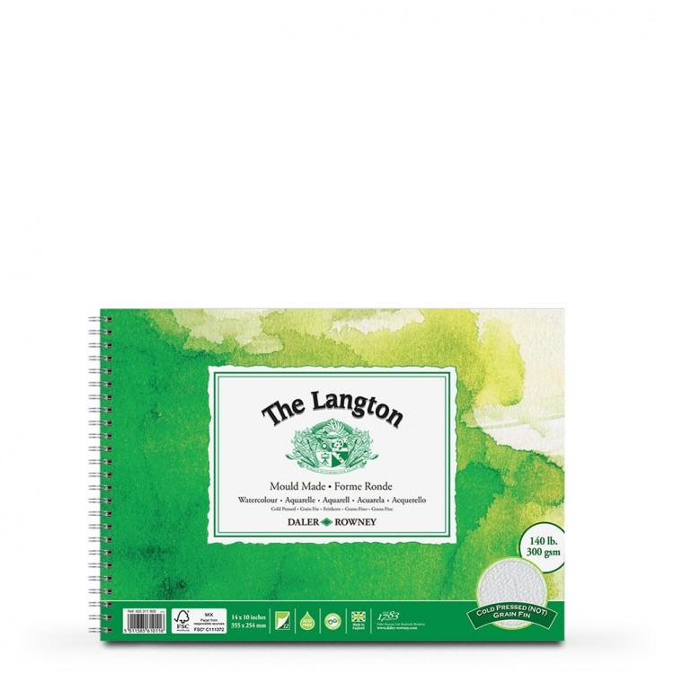 Daler Rowney : Langton : 10x14in : Watercolour Paper Pad : 300gsm : Not