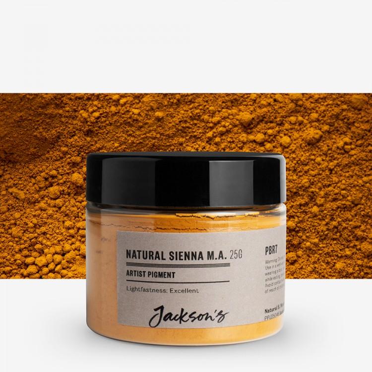 Jackson's : Artist Pigment : Natural Sienna Monte Amiata PBr7 : 25g (in 50ml Jar)