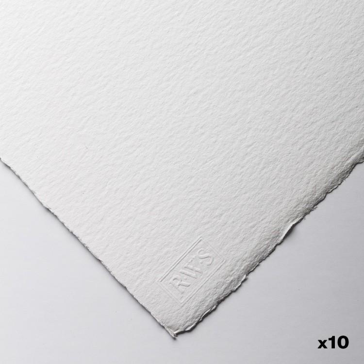 Royal Watercolour Society : Watercolour Paper : 56x76cm : 300gsm : 10 Sheets : Rough