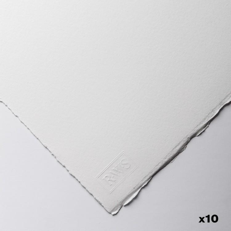 Royal Watercolour Society : Watercolour Paper : 56x76cm : 425gsm : 10 Sheets : HP