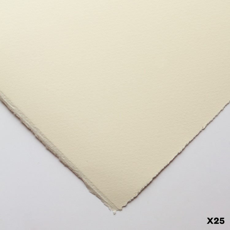 Somerset : Printmaking Paper : 56x76cm : Soft White : Satin : 25 Sheets