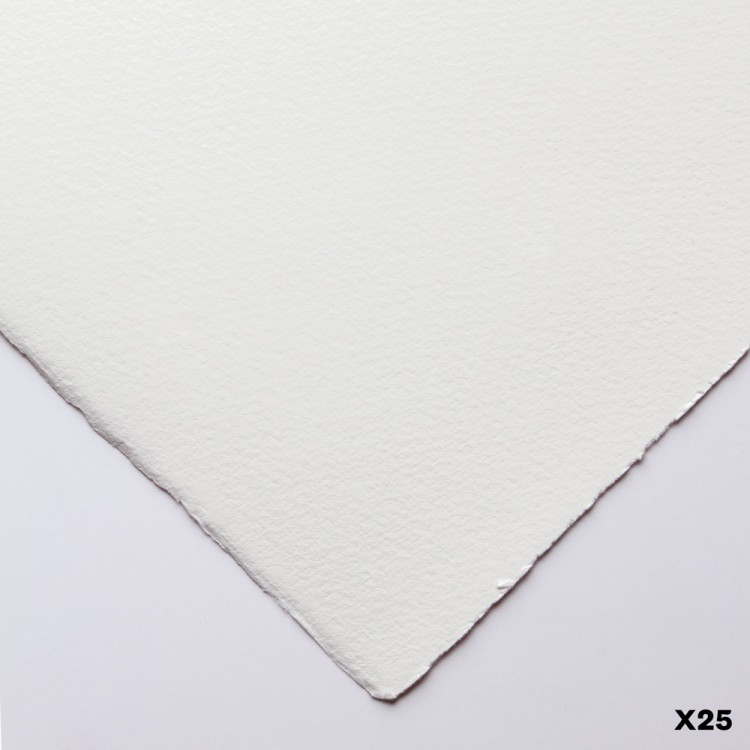 Somerset : Printmaking Paper : 56x76cm : 300gsm : White : Velvet : Pack of 25