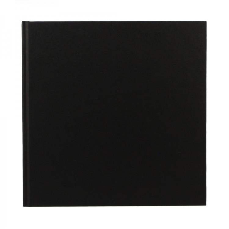 Seawhite : Cloth Bound Sketchbook 140gsm : 14x14cm