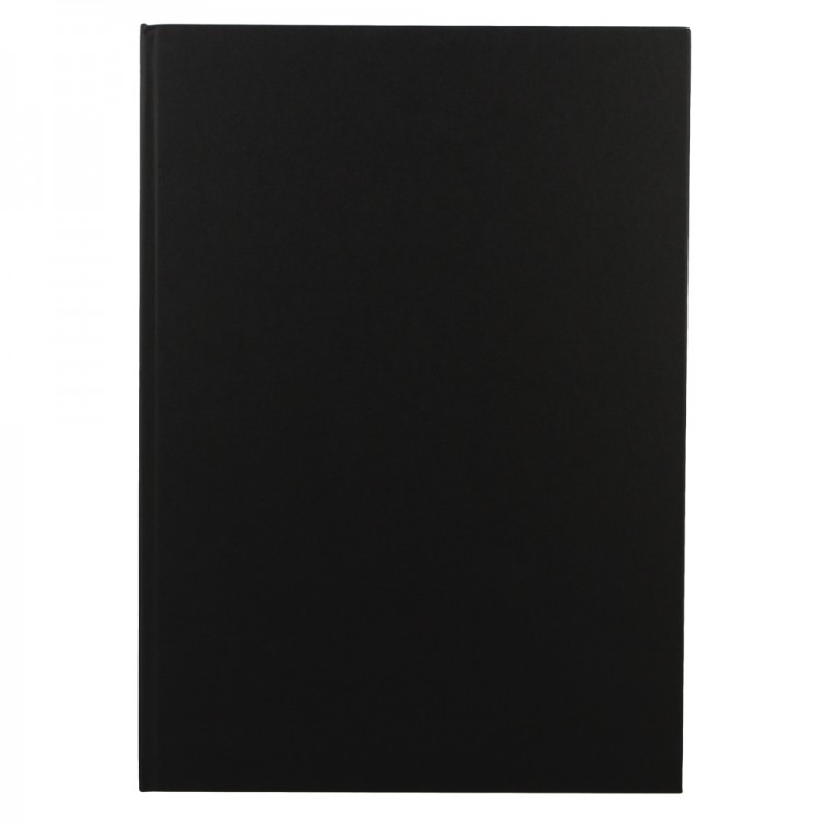 Seawhite : Jackson's : Black Cloth Case Bound Sketchbook 140gsm : A3 Portrait