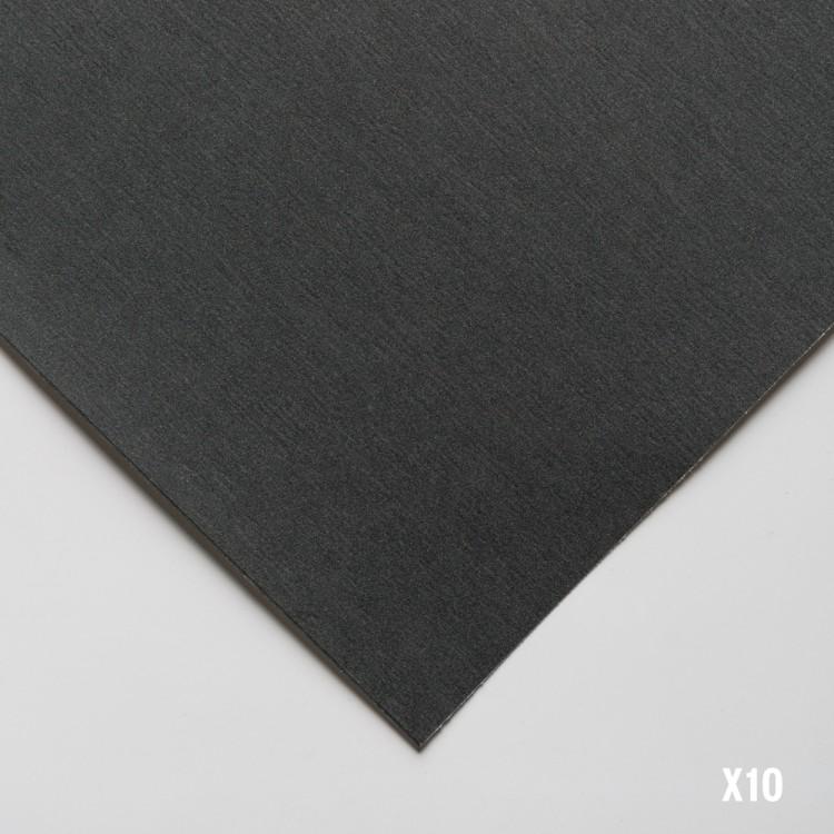 UART : Dark Sanded Pastel Paper : 10 Sheet Pack : 9x12in (23x30cm) : 500 Grade