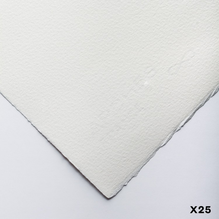 Arches : Velin : Printmaking Paper : 56x76cm : 200gsm : White : 25 Sheets