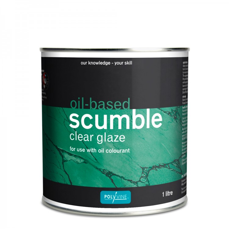 Polyvine : Oil Based Scumble Glaze : 1 litre : By Road Parcel Only