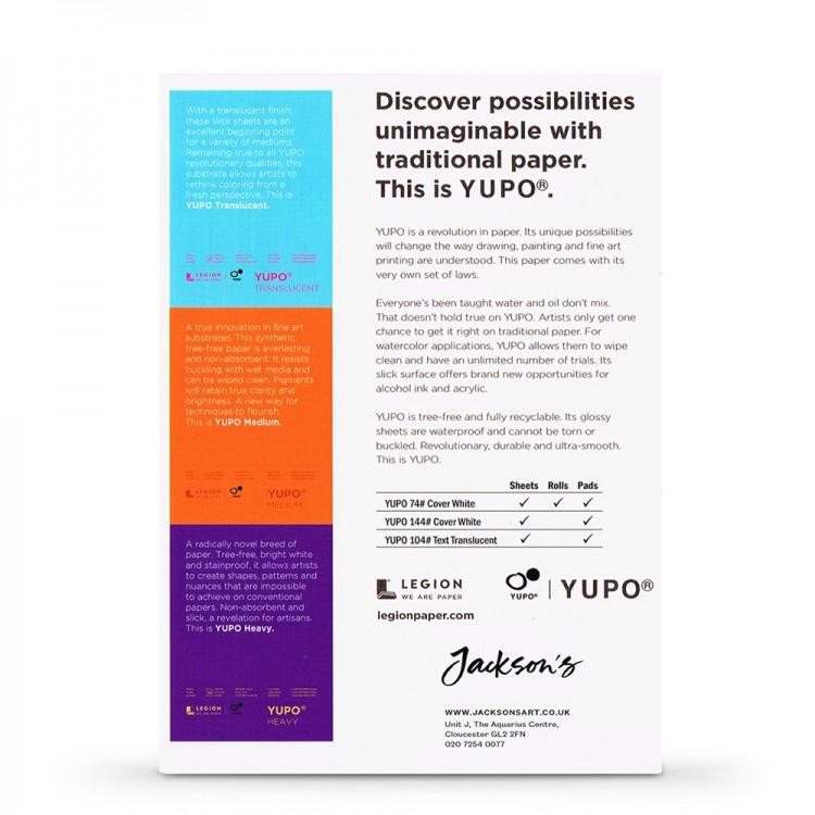 Yupo : Watercolour Paper : 13x18cm : Sample Pack of 3 : 1 Per Order