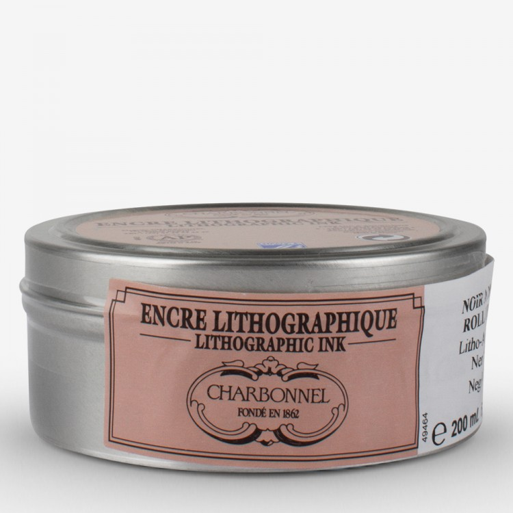 Charbonnel : Lithographic Ink : Roll Up : 200ml : Black