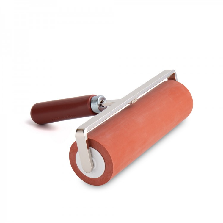 Japanese Hard Rubber Roller / Brayer : 60 Shore : 165mm
