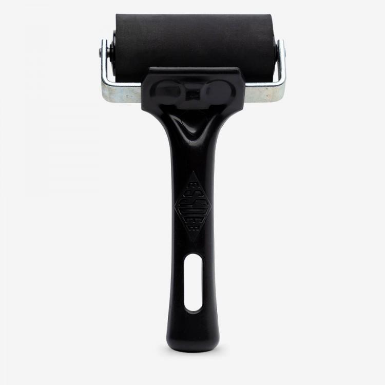 Essdee : Professional Ink Roller (Black Handle) : 7.5cm