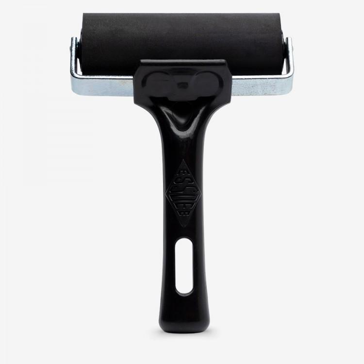 Essdee : Professional Ink Roller (Black Handle) : 10cm