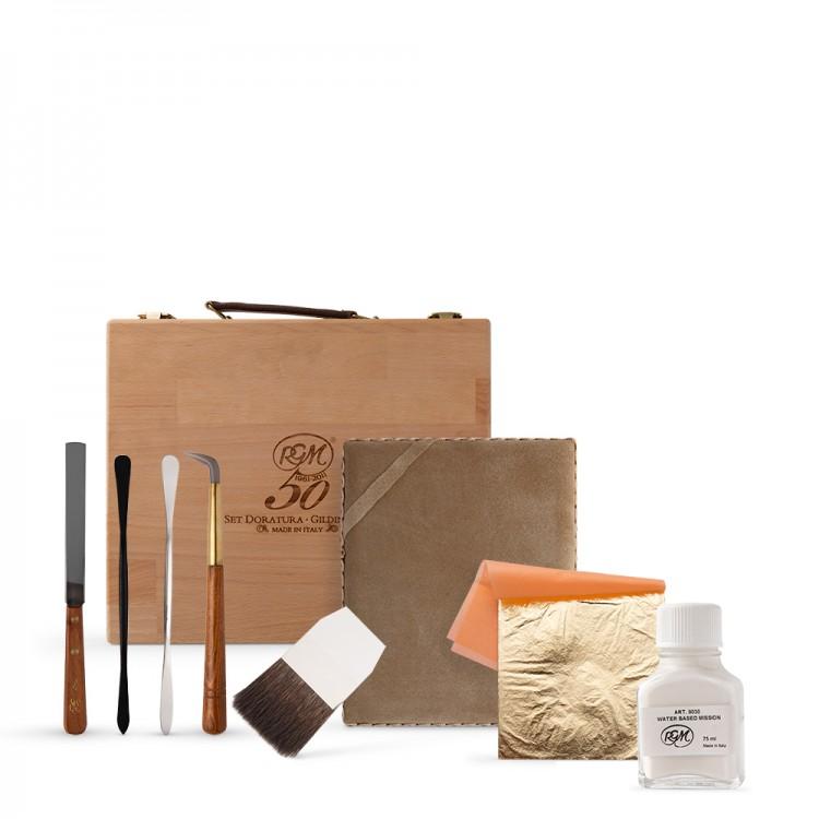 RGM : Gilding Tools Wooden Box Set