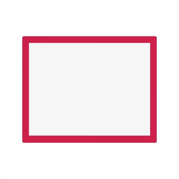 Jackson's : Aluminium Screen Printing Screen : 43T White Mesh : 19x24 inches