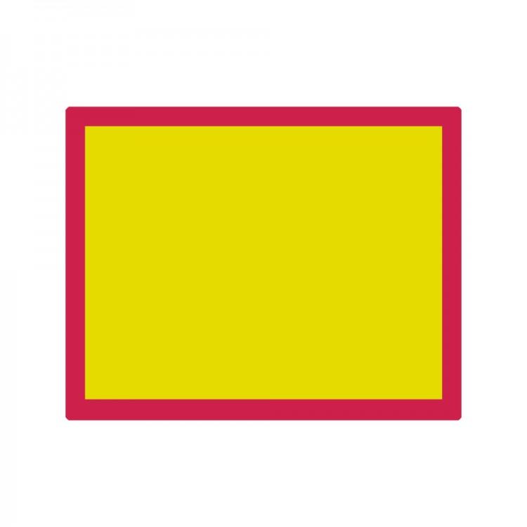 Jackson's : Aluminium Screen Printing Screen : 77T Yellow Mesh : 19x24 inches