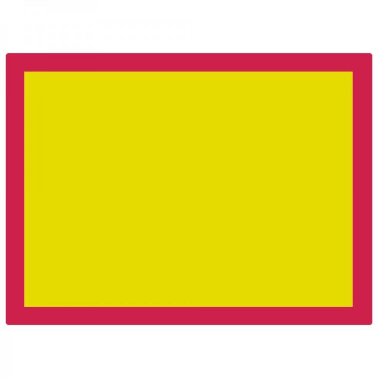 Jackson's : Aluminium Screen Printing Screen : 77T Yellow Mesh : 31x23 inches