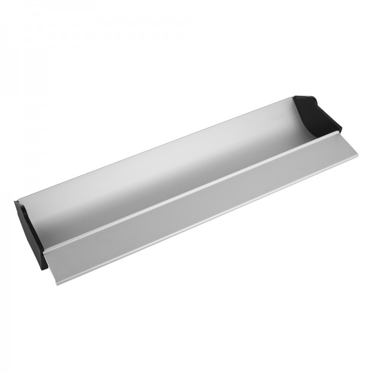 Jackson's : Aluminium Coating Trough : 18 inches : with plastic removable end caps