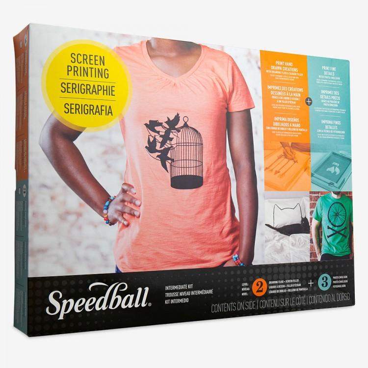 Speedball : Super Value Fabric Screen Printing Set (set 3)