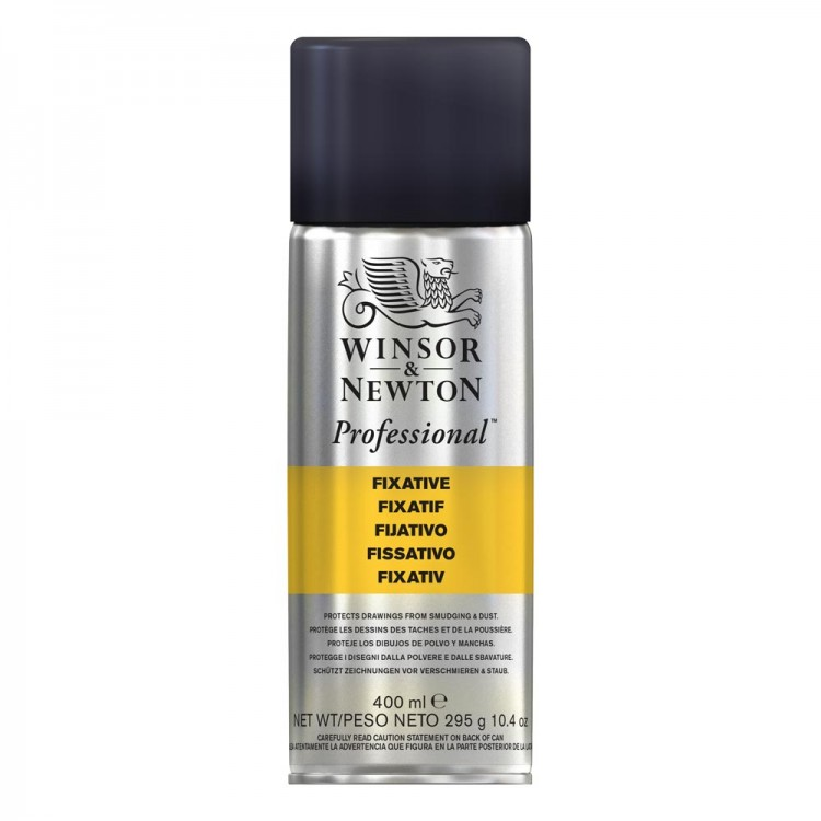 Winsor & Newton : Spray Soft Pastel Fixative : 400ml : By Road Parcel Only