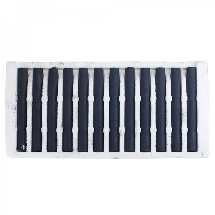 Jakar : Compressed Charcoal Set of 12 black