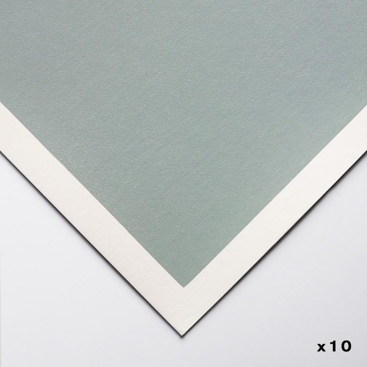 Art Spectrum : Colourfix Original : Pastel Paper : 50x70cm : Fresh Grey : Pack of 10