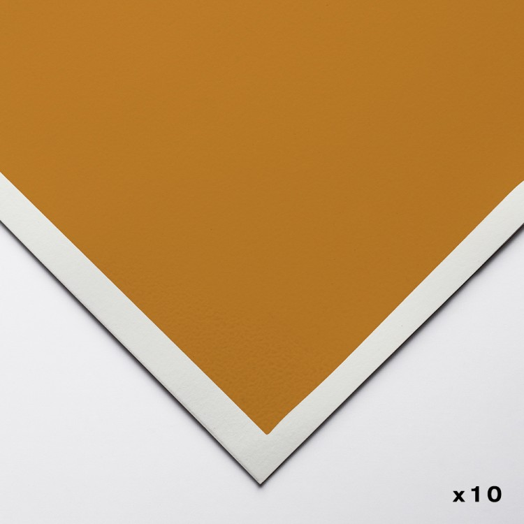Art Spectrum : ColourFix Pastel Paper : 50x70cm : Raw Sienna : Pack of 10
