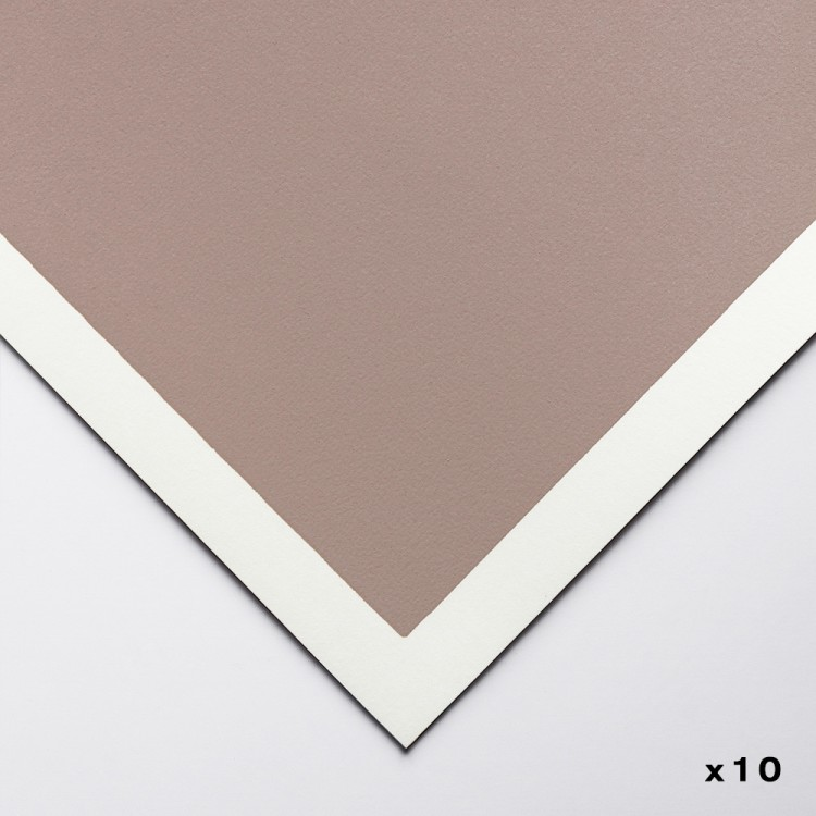 Art Spectrum : Colourfix Original : Pastel Paper : 50x70cm : Rose Grey : Pack of 10