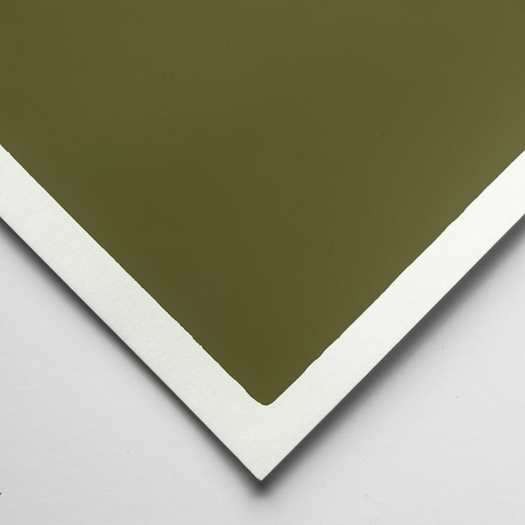 Art Spectrum : Colourfix Smooth : Pastel Paper : 50x70cm : Olive Green