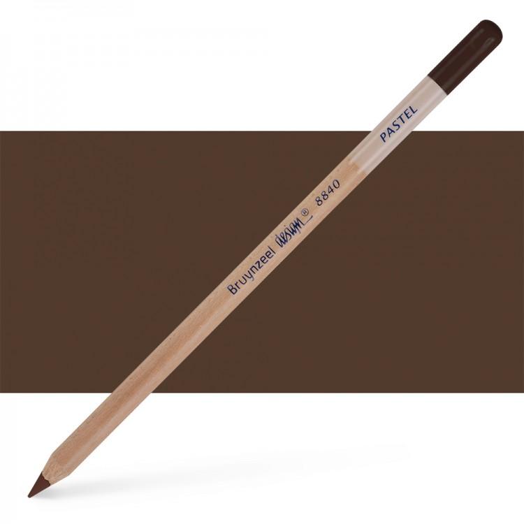 Bruynzeel : Design : Pastel Pencil : Mid Brown